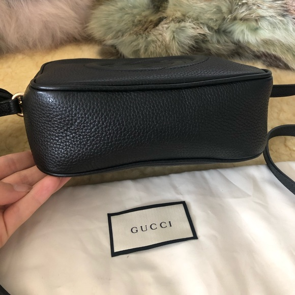 496eeb57b Gucci Soho Disco Black Leather Bag Like New. Gucci.  M_5caf92b3d1aa25531185cafc. M_5caf92b48d6f1ace70fd01dd.  M_5caf92b57f617fc5cf3b3e48